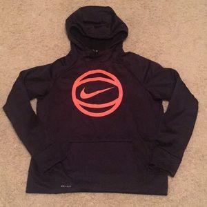 Boys Nike DriFit hoodie. EUC. XL. 10-12. Perfect!